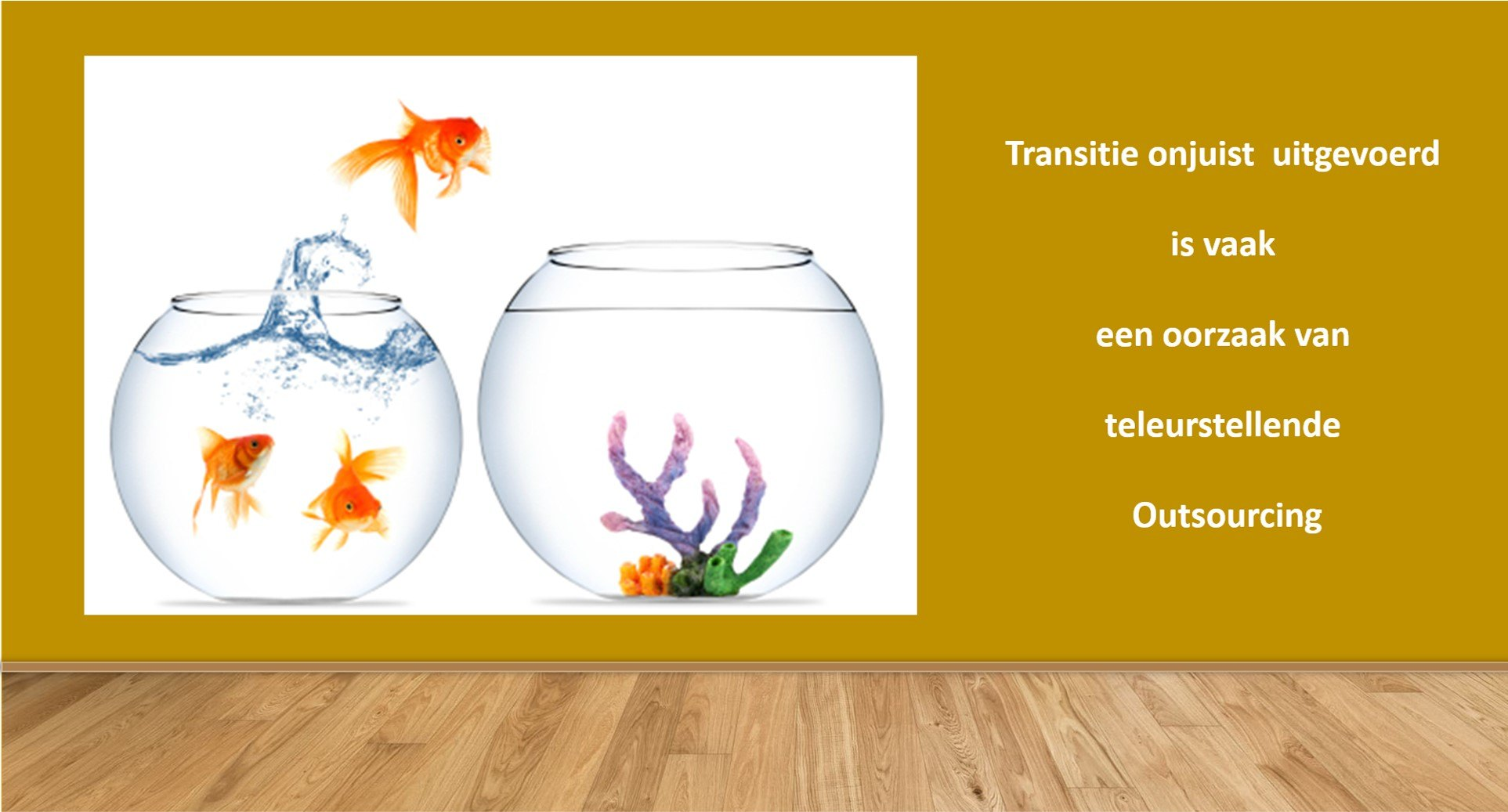 Transitiemanagement bij Outsourcing
